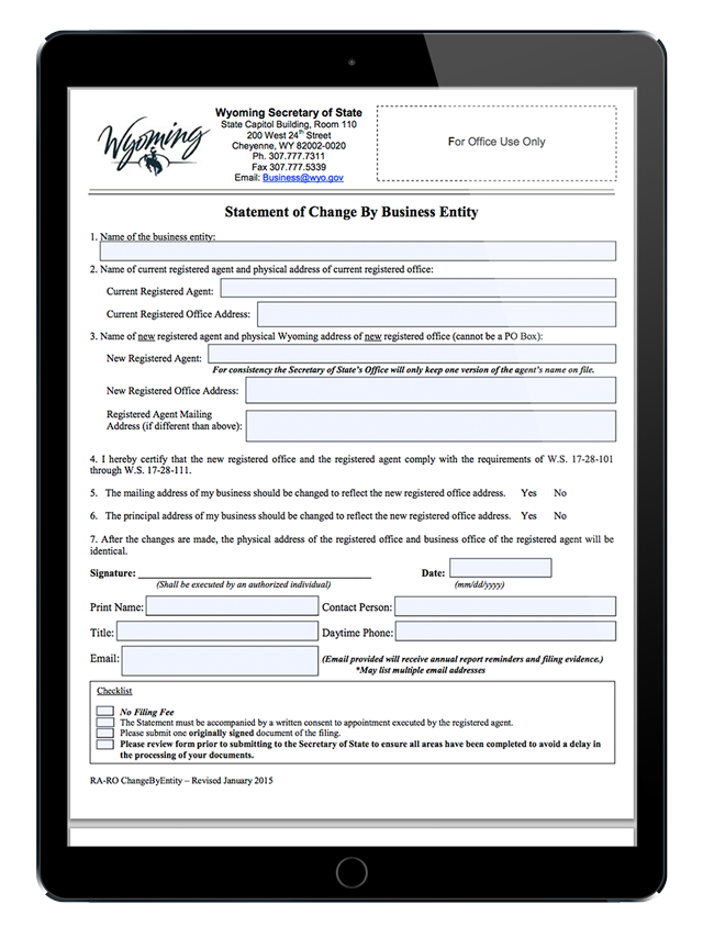 Wyoming Mail Forwarding Service Choices